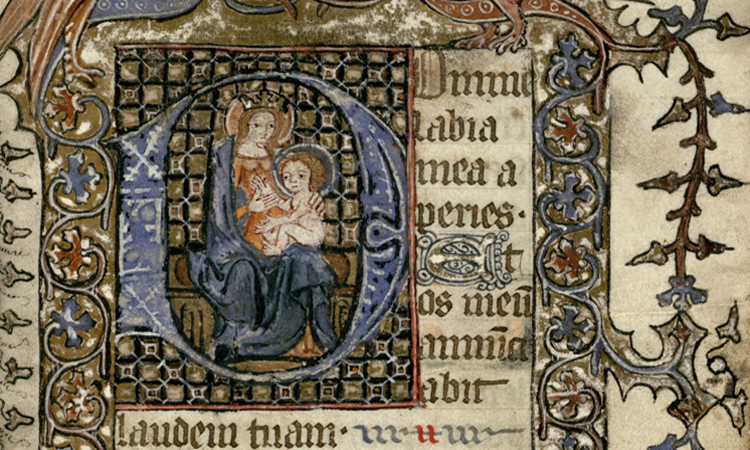 University of Houston Digital Library: Book of Hours, Use of Reims
