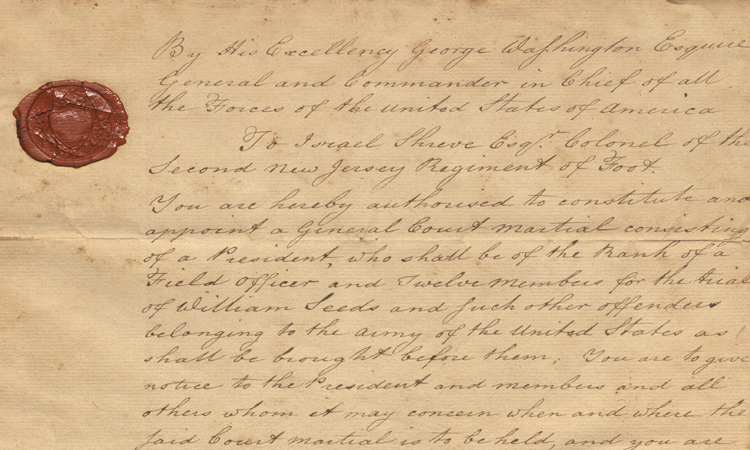 Israel Shreve Revolutionary War Letters, 1768-1894