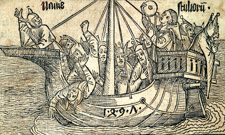 Ship of Fools Woodcuts