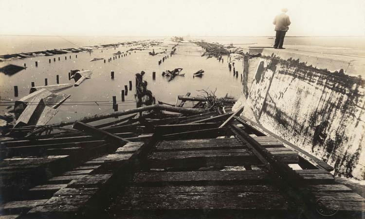 Galveston 1915 Hurricane Photographs