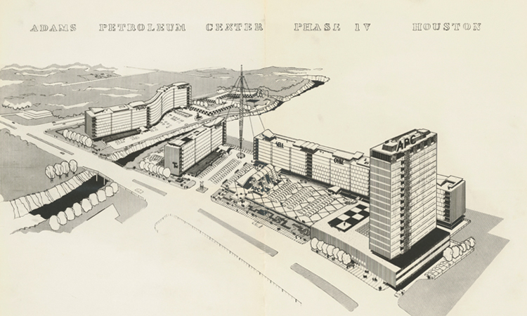 Donald Barthelme Sr., Architectural Drawings and Photographs