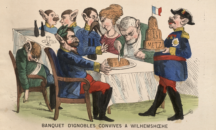 Franco-Prussian War and Paris Commune Caricatures