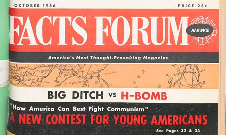 Facts Forum News, 1955-1956