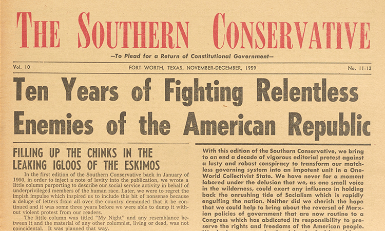The Southern Conservative