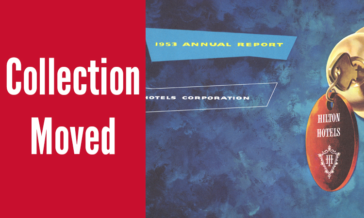 Annual Reports from the Hospitality Industry Archives
