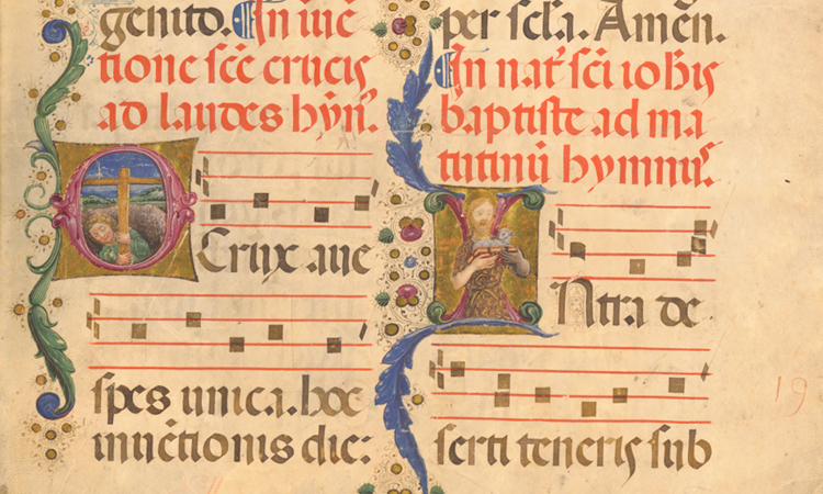 Medieval Manuscript Leaves and Fragments